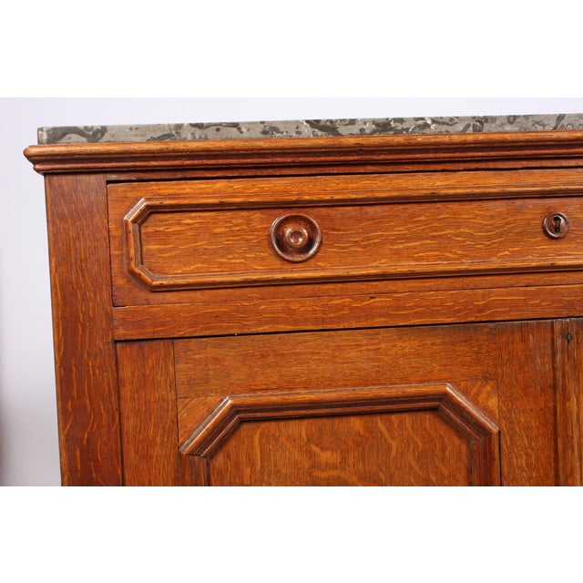 Antique Louis Philippe-Style Washstand - Image 4 of 4