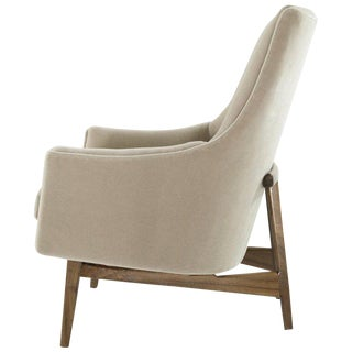 Jens Risom A-Line Lounge Chair, Model #2136 For Sale