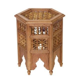 Cedar Moroccan Side Table