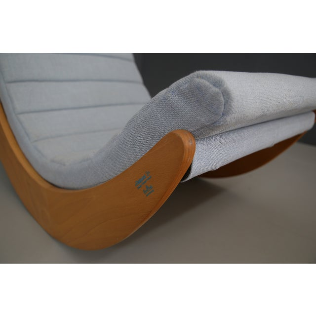 1970s Rocking Chair by Verner Panton for Rosenthal, 1974 For Sale - Image 5 of 6