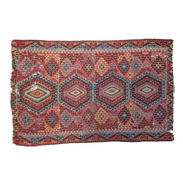 """Antique Kilim Carpet - 6'1"""" x 9'1"""" For Sale"""