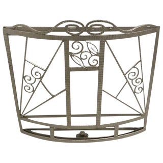 French Art Deco Umbrella Stand For Sale