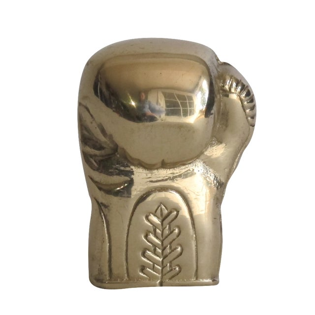 Brass Boxing Glove - Image 1 of 10