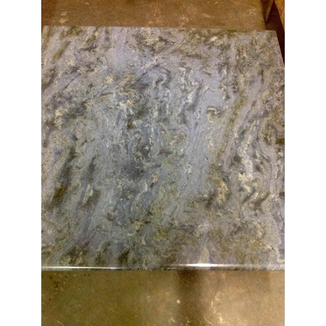 Blue Brazilian Quartzite Coffee Table For Sale In Austin - Image 6 of 6