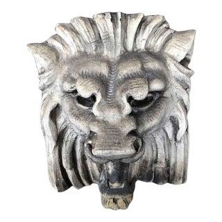 Antique Terra Cotta Lion Head For Sale