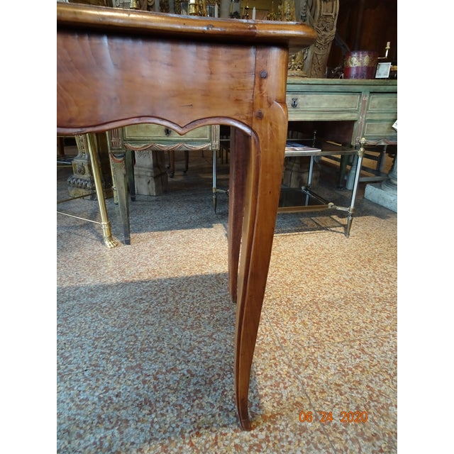 18th Century French Walnut Table For Sale - Image 4 of 13