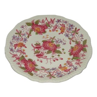 Vintage Spode Aster Red Dinner Plate Copeland For Sale