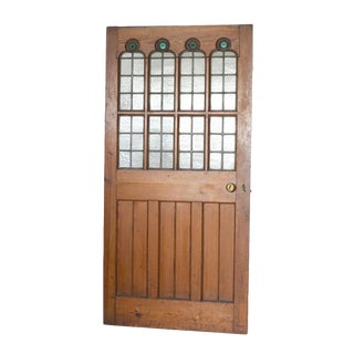 Mid 19th Century Gothic Revival Pine Door For Sale