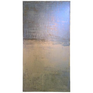 2019 Carol Post Timeless Reverie Venetian Plaster and Acrylic Painting For Sale