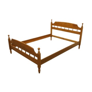 Vintage Mid-Century Heywood Wakefield Full Size Bed For Sale