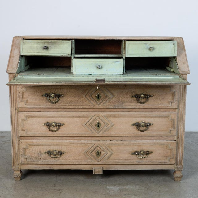 1860s French Secretary Cabinet For Sale - Image 4 of 10