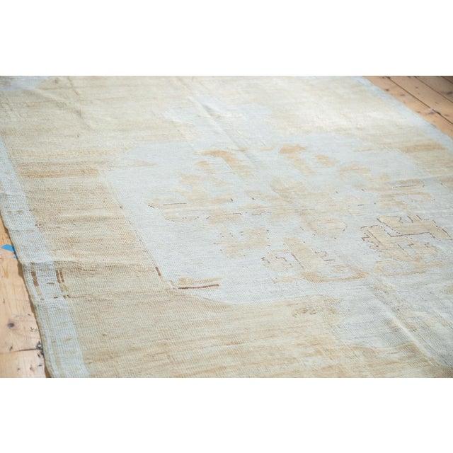 "Distressed Oushak Carpet - 5'10"" X 9'1"" - Image 2 of 10"