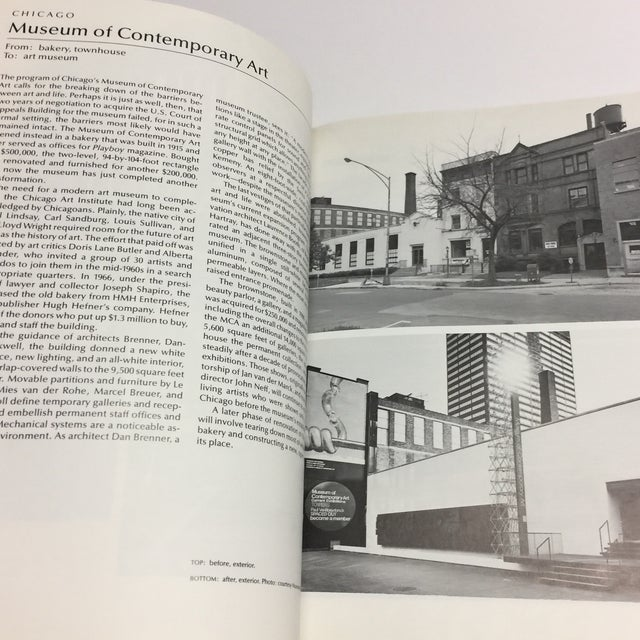 1978 Buildings Reborn Book For Sale - Image 11 of 12