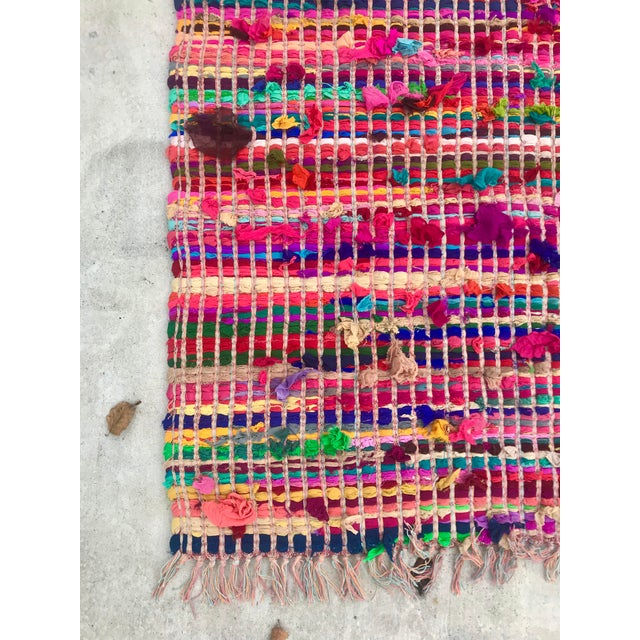 Anthropologie Indian Multicolor Rug - 4′ × 6′ For Sale - Image 4 of 11