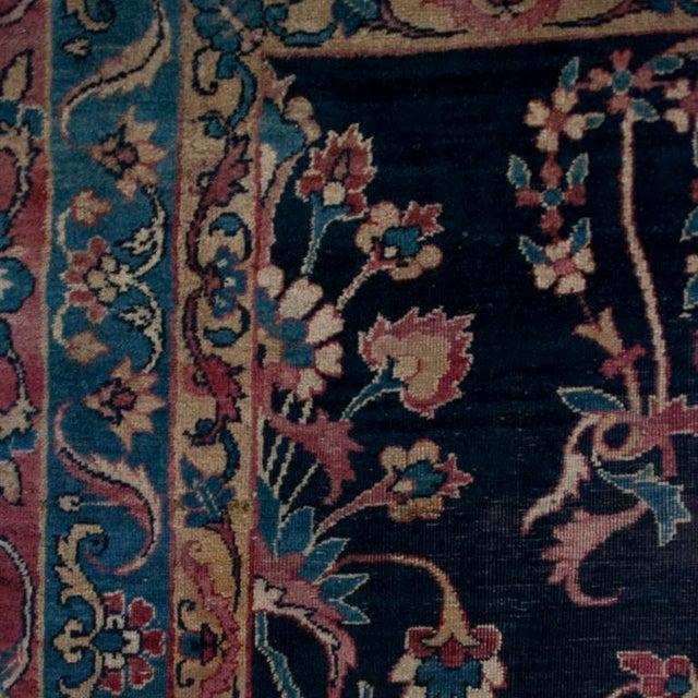 19th Century Yadz Carpet - 8′7″ × 11′ For Sale - Image 4 of 6
