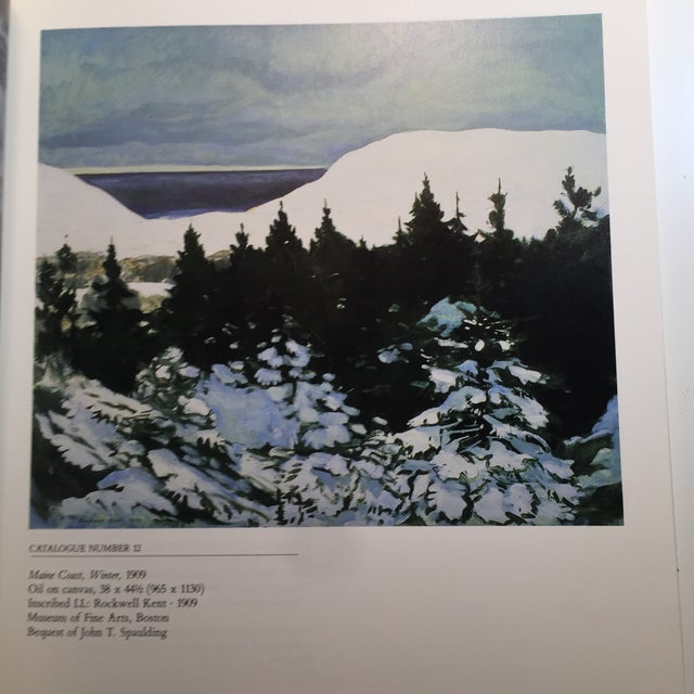 1985 The Paintings of Rockwell Kent Book - Image 6 of 11
