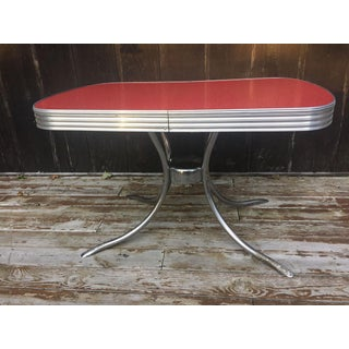 Formica and Chrome 1950s Dinette Set - 6 Piece Set Preview