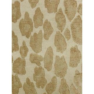 Sample, Scalamandre Chita, Sand Fabric For Sale