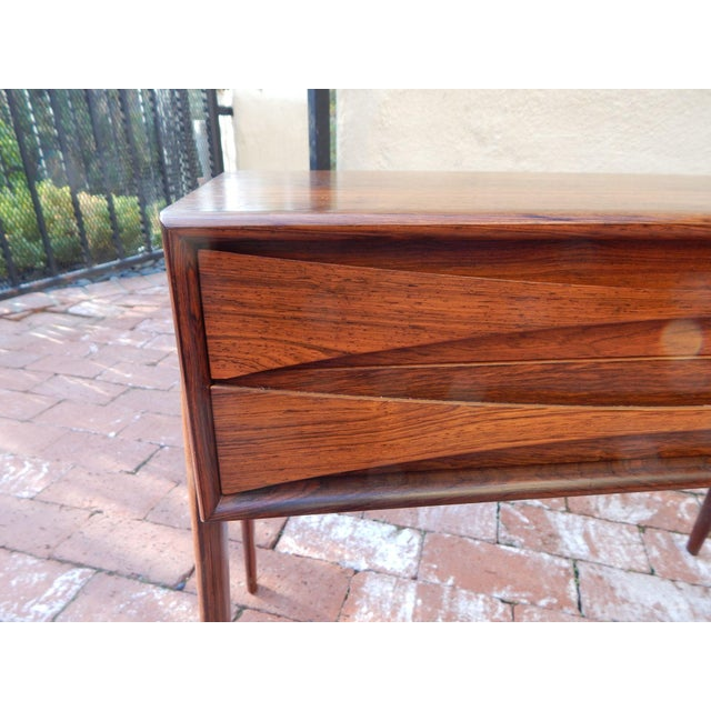 Swedish Mid-Century Modern Mini-Chest in Rosewood - Image 6 of 8