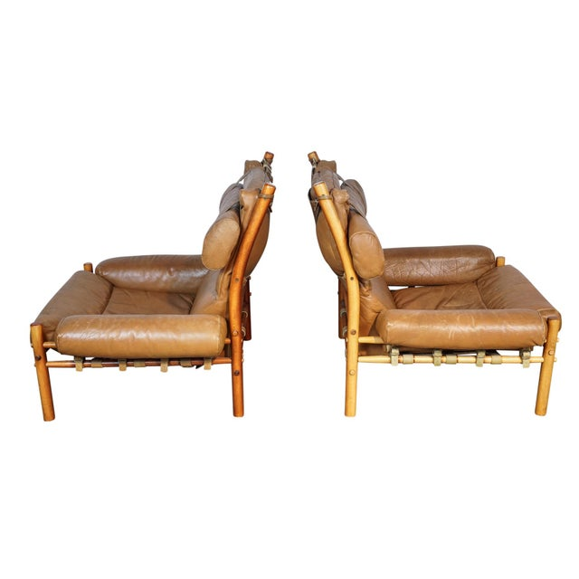 Arne Norell Inca Chairs - A Pair - Image 3 of 5