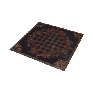 Antique Slate Chess Game Board (B) For Sale