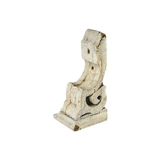 Antique White European Architectural Corbel For Sale