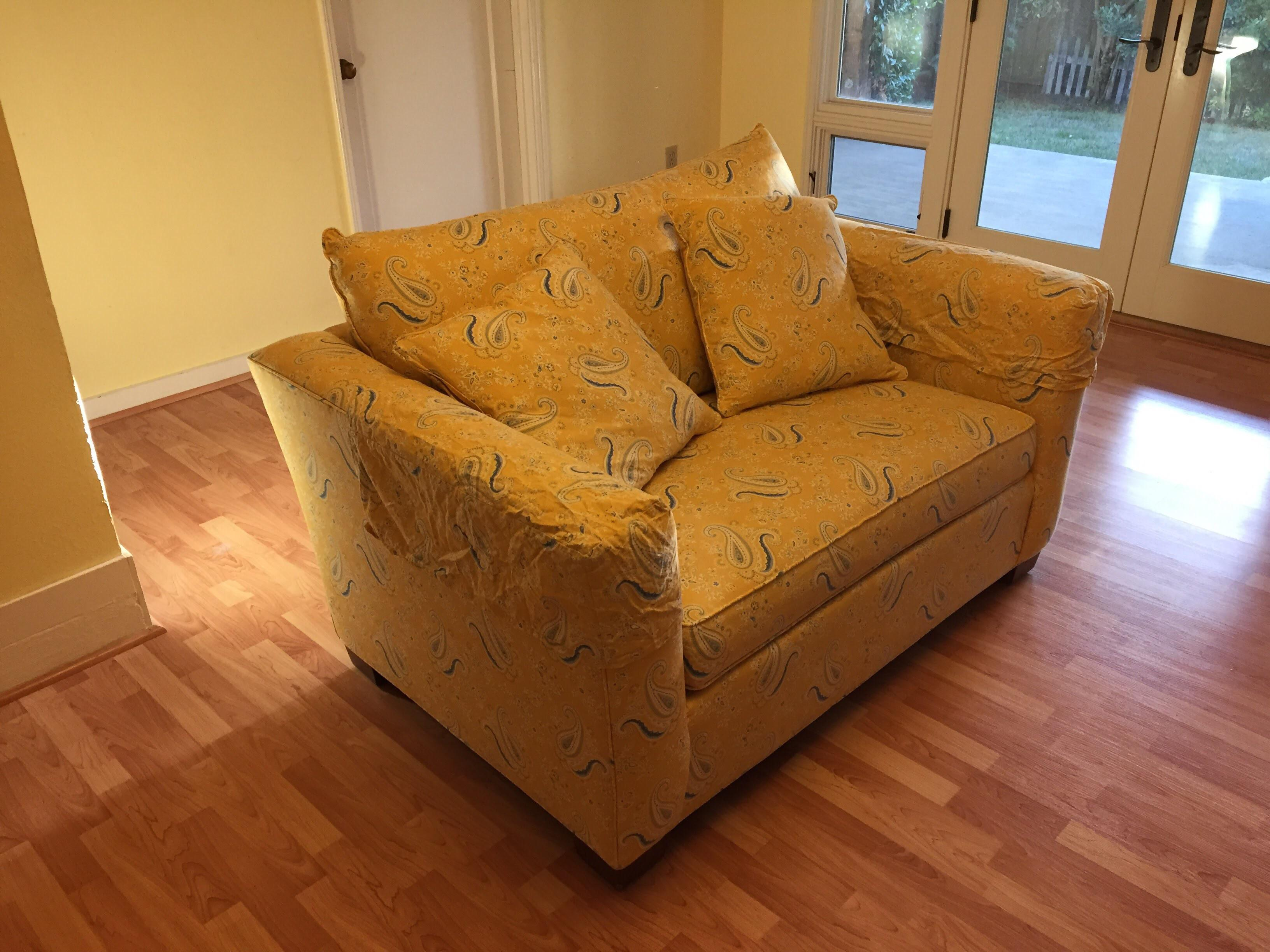 Ethan Allen Chair And A Half   Image 4 Of 10