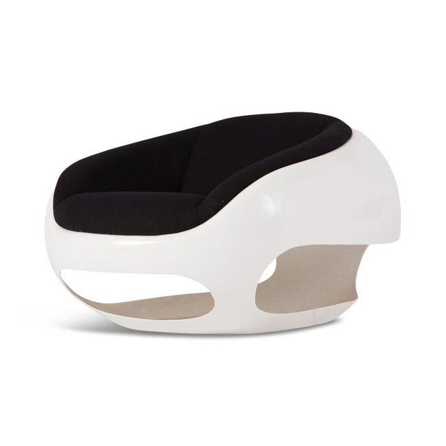 Mario Sabot Sculptural Fiberglass Lounge Chairs For Sale - Image 6 of 9