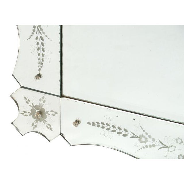 Art Deco French Antique Mirror For Sale - Image 9 of 10
