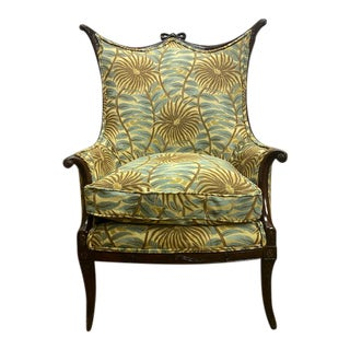 1920s Vintage French Arm Chair For Sale