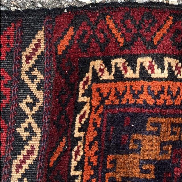Baluchi Persian Rug - 1′7″ × 2′ - Image 8 of 8