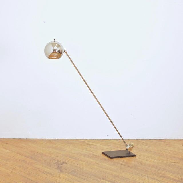 1970s 1970s Robert Sonneman Orb Floor Lamp For Sale - Image 5 of 9