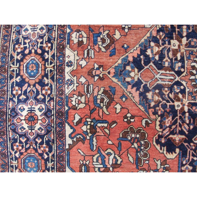 White 19th Century Fereghan Sarouk Rug For Sale - Image 8 of 10