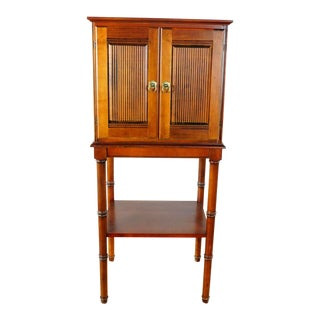 Ethan Allen Wood Cabinet For Sale