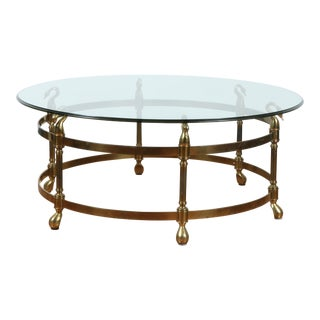 Beautiful Hollywood Regency Coffee Table For Sale