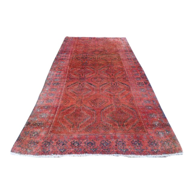Antique Persian Lilihan Rug 3 5 Quot X 6 5 Quot Chairish
