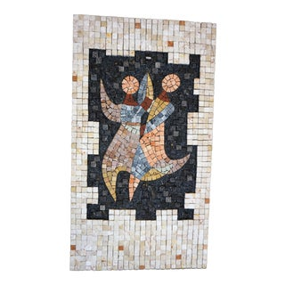Handcrafted Mosaic of Dancers Collage For Sale