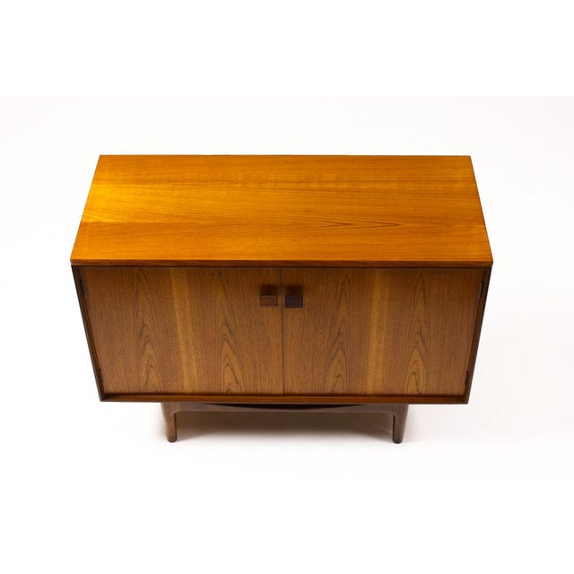 Danish Modern Teak Compact Credenza, Kofod Larsen For Sale In Los Angeles - Image 6 of 9