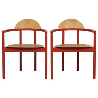 1950s Vintage Karl Andersson and Sons Swedish Chairs- a Pair For Sale