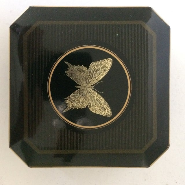 Papillon Otagiri Butterfly Coasters - Set of 6 For Sale In Sacramento - Image 6 of 11