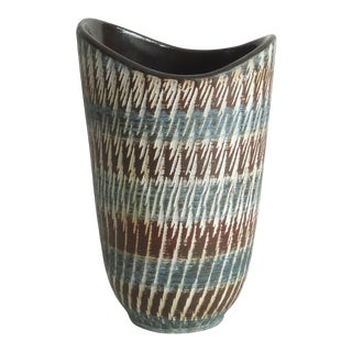 Western German Mid Century Modern Pottery Vase