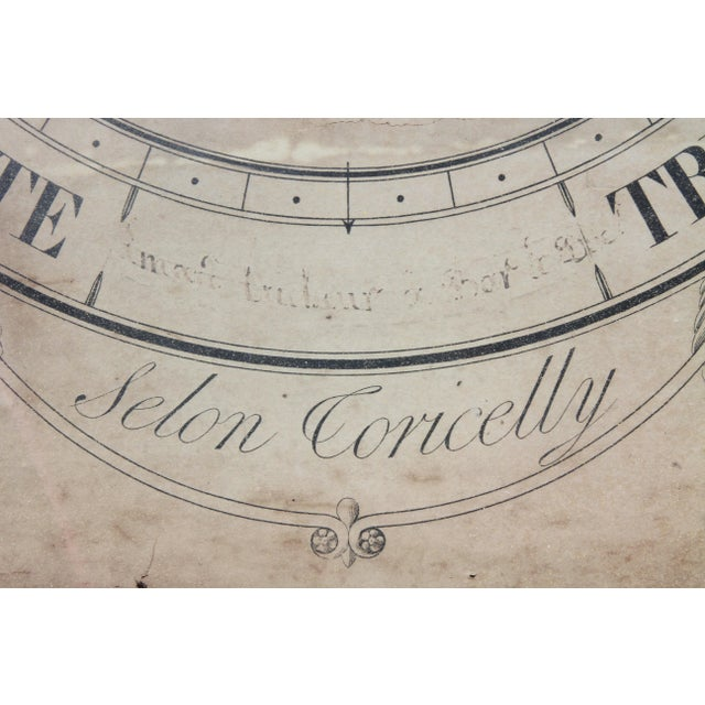 Early 19th Century Charles X-Giltwood Barometer For Sale - Image 5 of 8