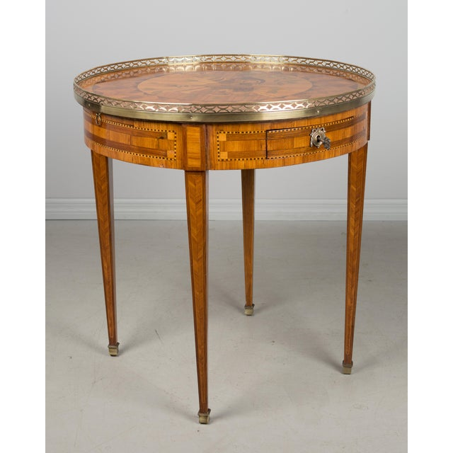 1960s French Louis XVI Style Side Table For Sale - Image 10 of 10
