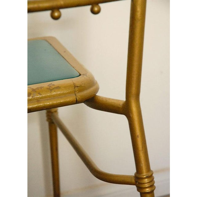 Metal Metal Chiavari Chairs - Set of 6 For Sale - Image 7 of 8