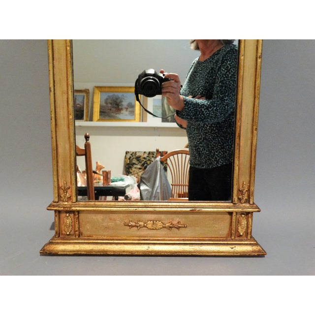 Italian Giltwood Mirror For Sale In Houston - Image 6 of 6