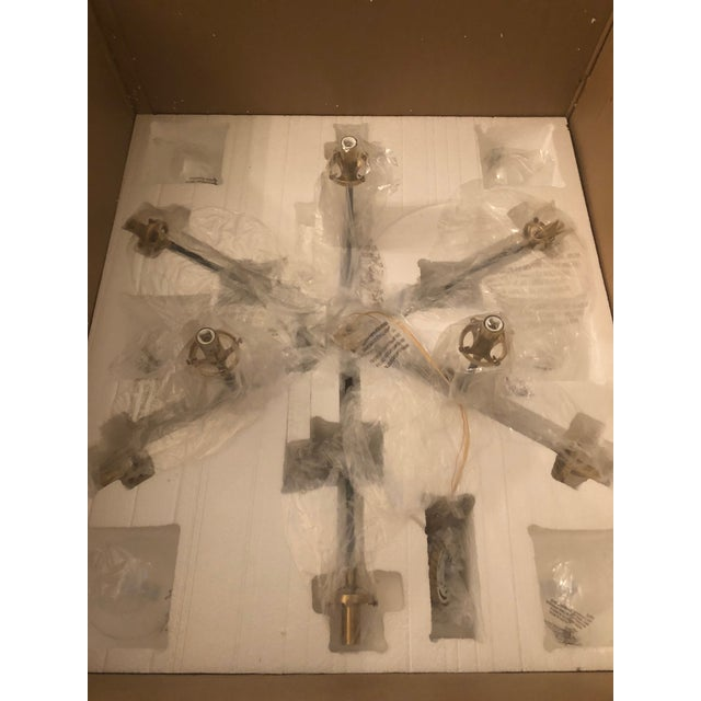 2010s Visual Comfort Ian K. Fowler Bistro Medium Chandelier Light For Sale - Image 5 of 9