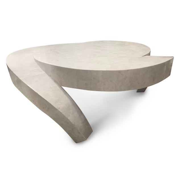 Vintage Tessellated Marble Coffee Table For Sale - Image 11 of 11