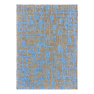 Keivan Woven Arts, IN-Saf-104, All-Over Modern Rug - 2′ × 3′ For Sale