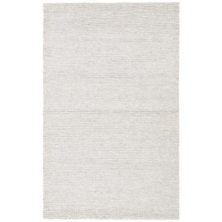 Jaipur Living Braiden Handmade Light Gray Area Rug - 9′ × 12′ For Sale