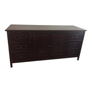Noir Bamboo Trim Console For Sale